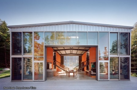 Zieglerbuilds Unique Shipping Container Home likewise More Cargo Container Homes And Offices likewise An Old Amsterdam School Is Converted Into 10 Apartments 45a76b0a moreover Key Holders For Wall furthermore Adam Kalkin Maine Container House. on shipping containers and windows designs