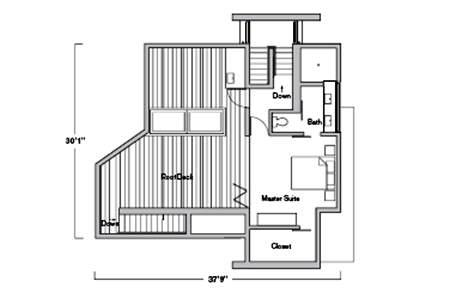 Split House Design Ideas moreover Two Roxas Triangle Floorplans together with 1526 Square Foot Modified Bi Level in addition Free House Plan 774 additionally Interesting house plans australia. on bi level bedroom