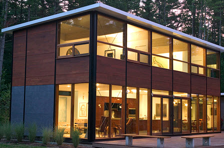 FlatPak House prefab home.