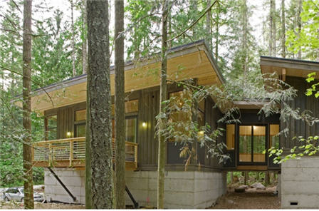 Method Homes - Cabin Series of modern prefab homes and cabins.
