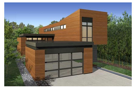 MK Designs by Blu Homes Sidebreeze prefab home.