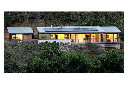 MK Designs by Blu Homes Glidehouse prefab home.