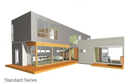 PieceHomes Standard Series prefab homes.